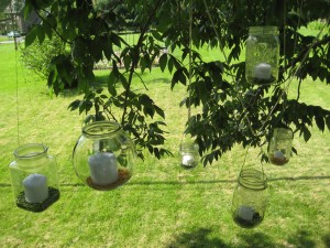 jars in the tree
