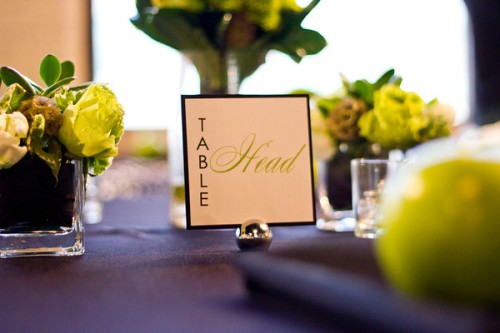 green placecard