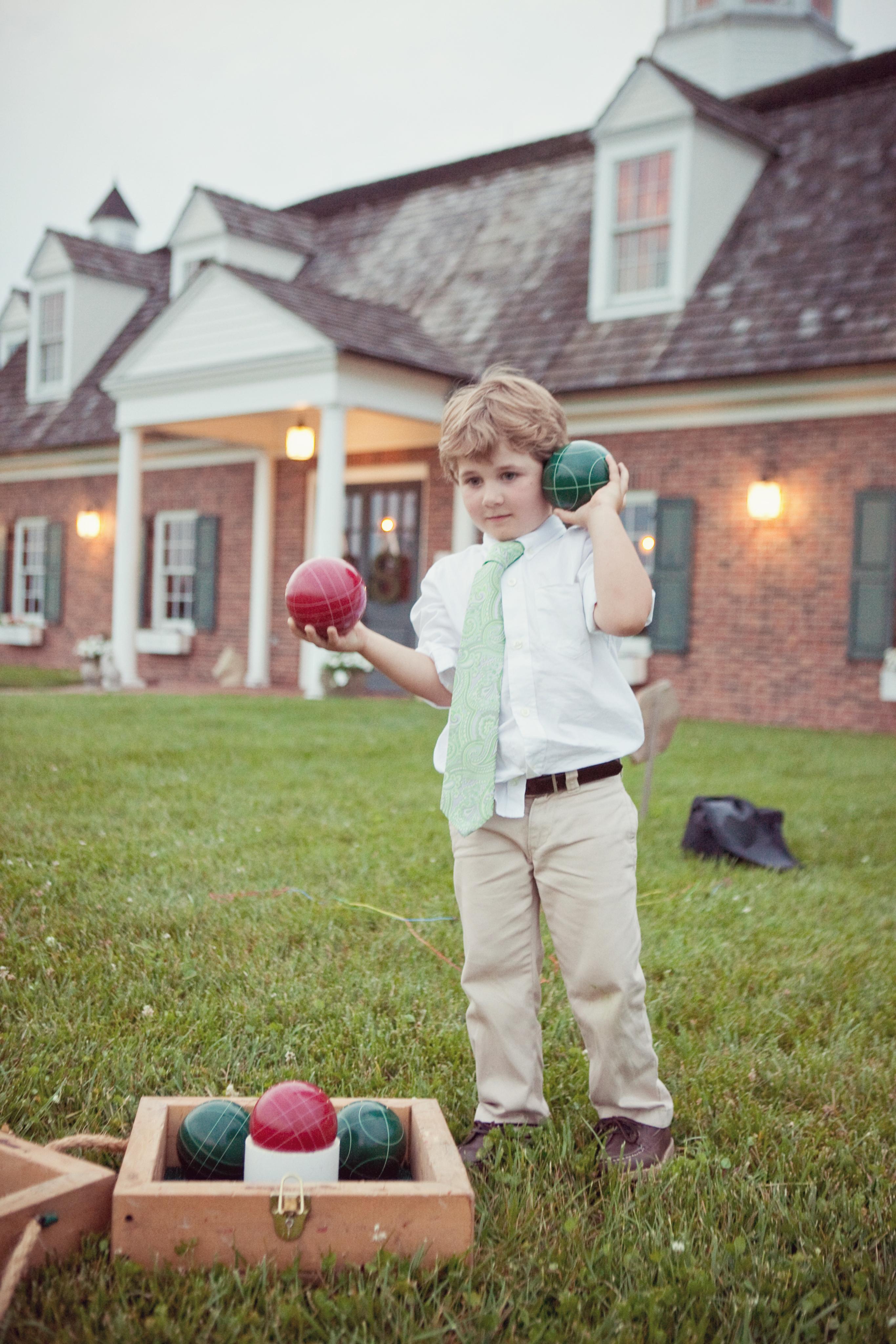 Backyard Bocce and chess | garden | Backyard, Bocce ball ...
