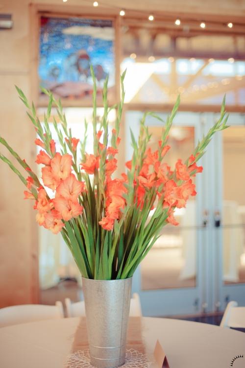 Gladiolus Centerpiece