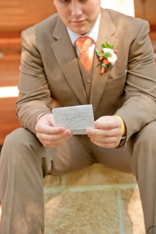 Letter to Groom