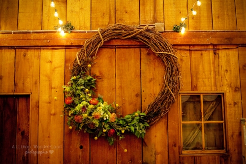 Fall Wedding Grapevine Wreath