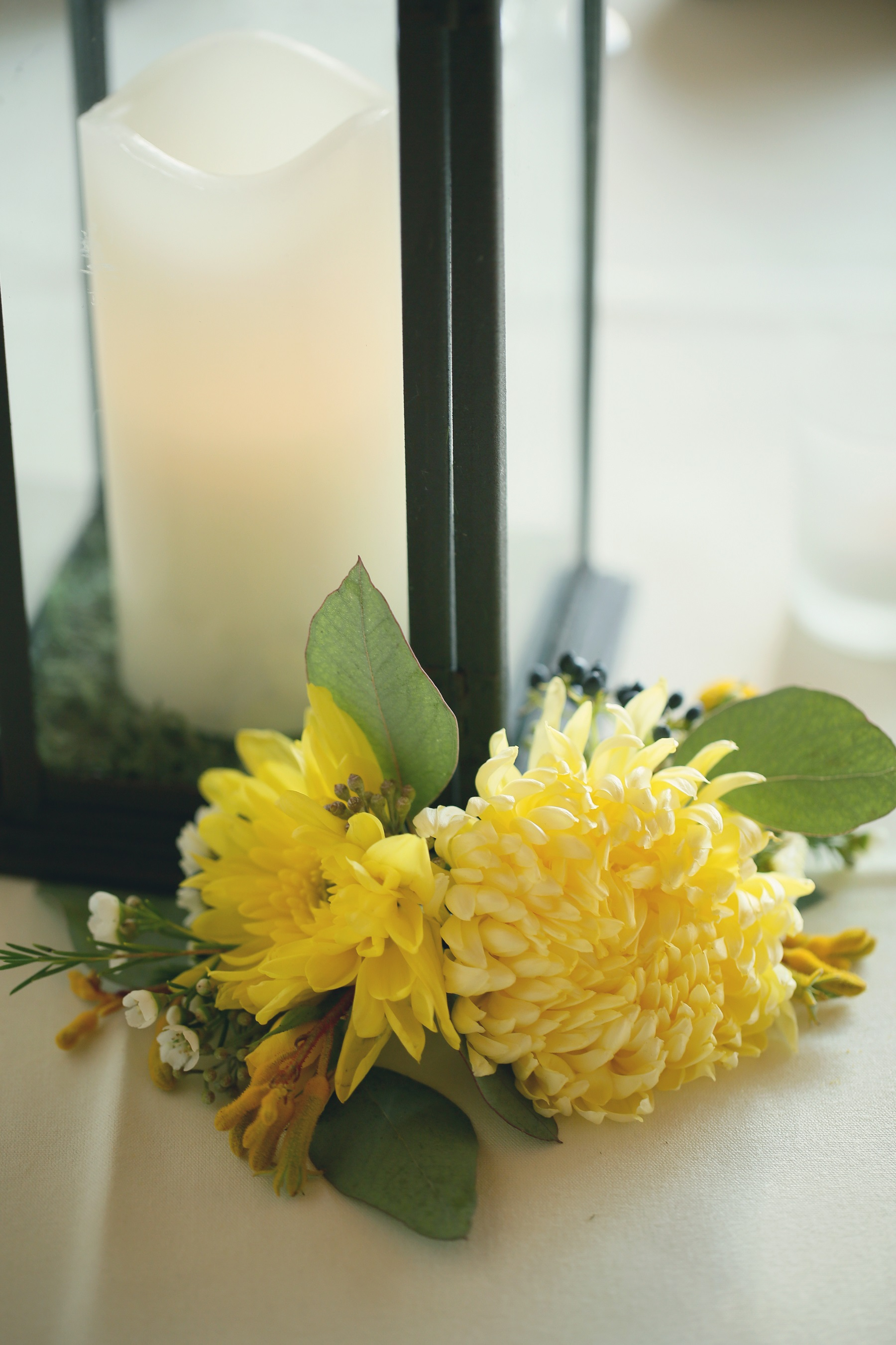 yelllow florals