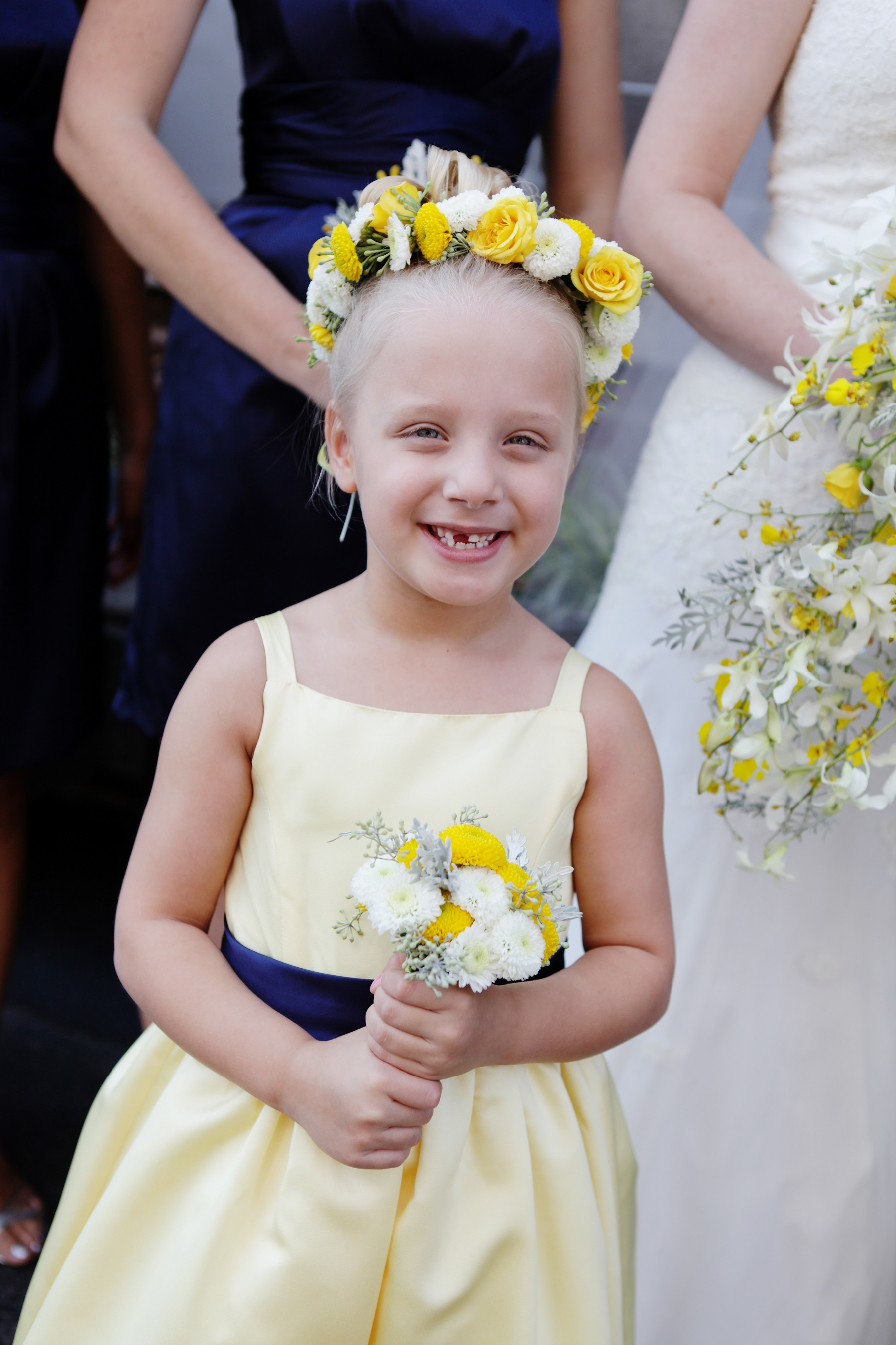 yellow flowergirl