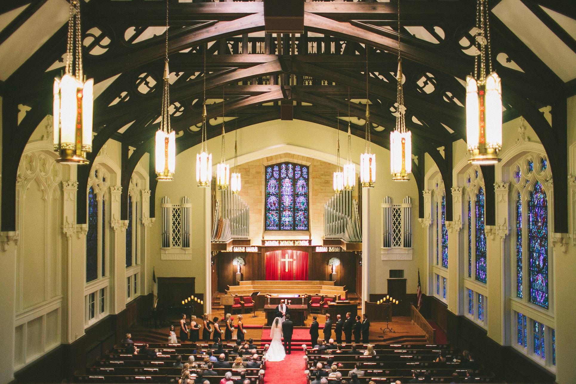 kansas city country club church wedding