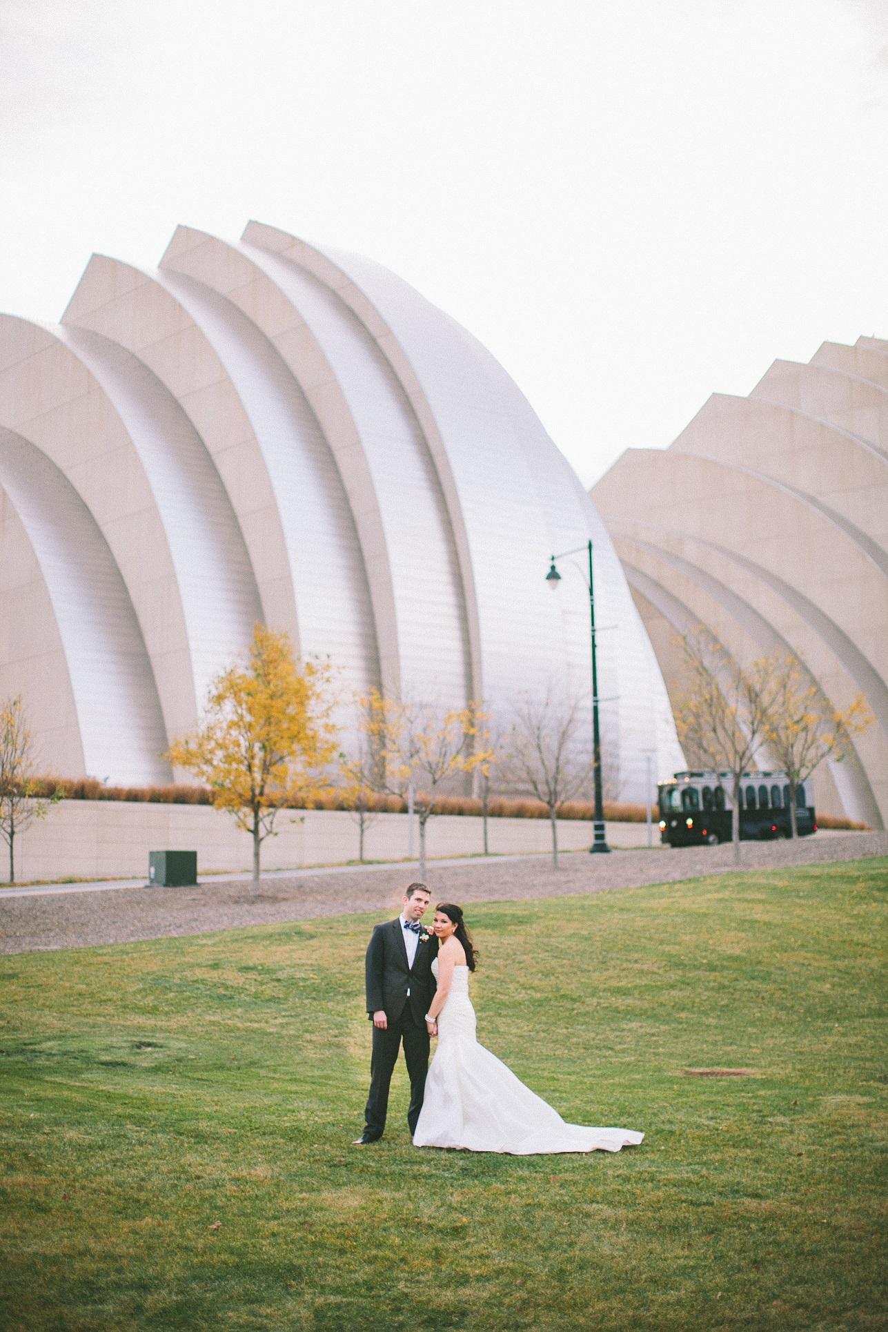 kauffman center wedding