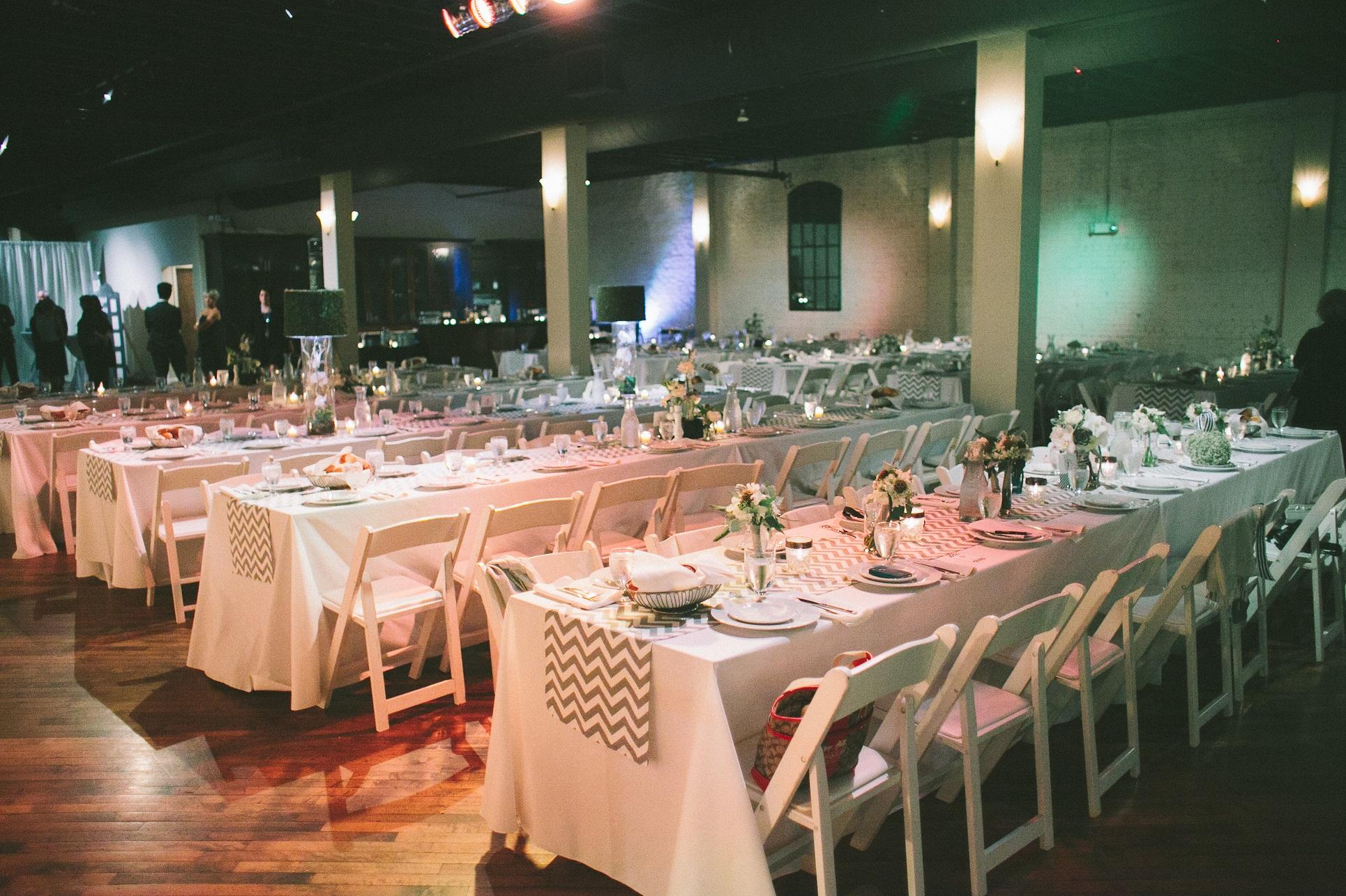 terrace on grand wedding reception