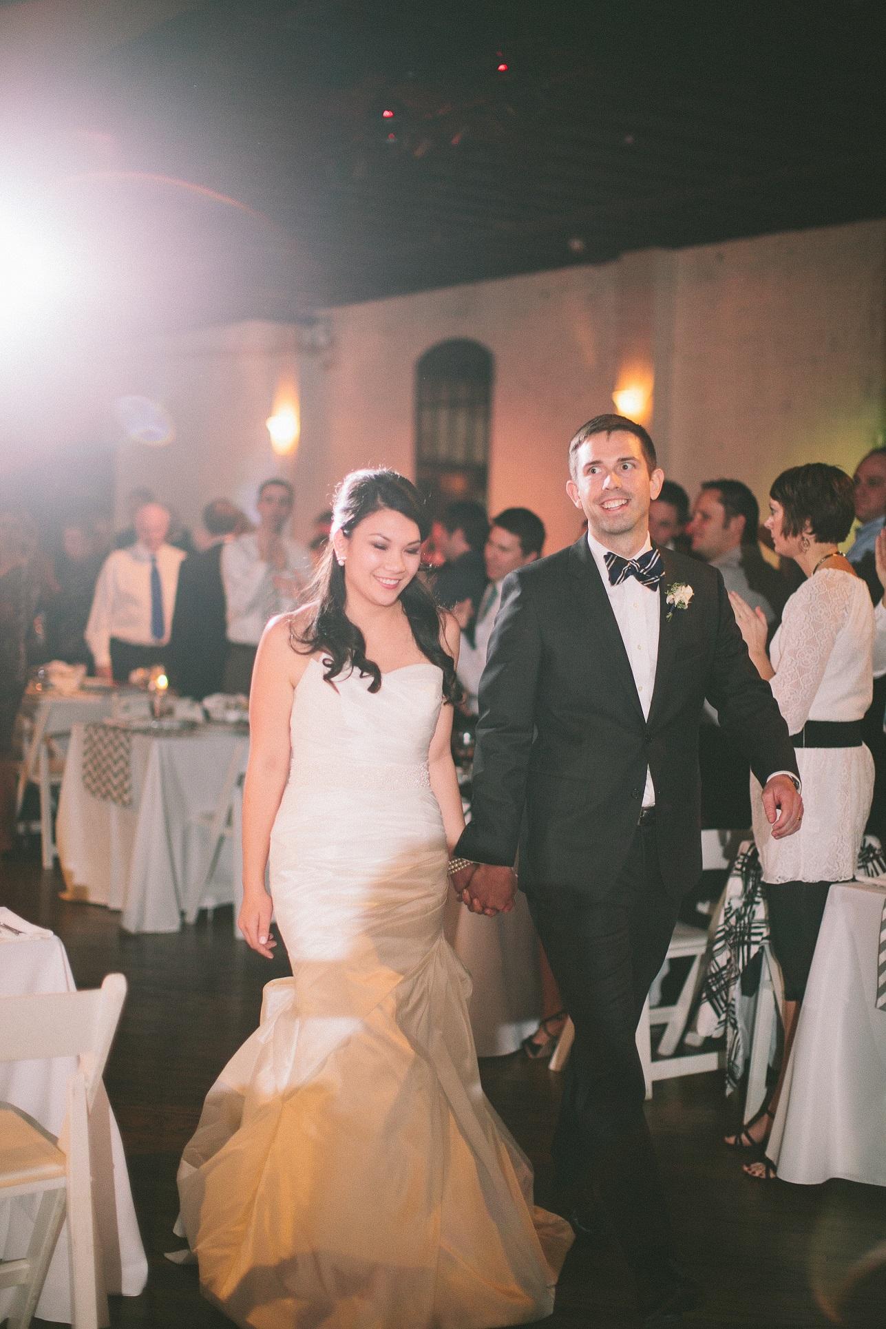 nautical wedding reception