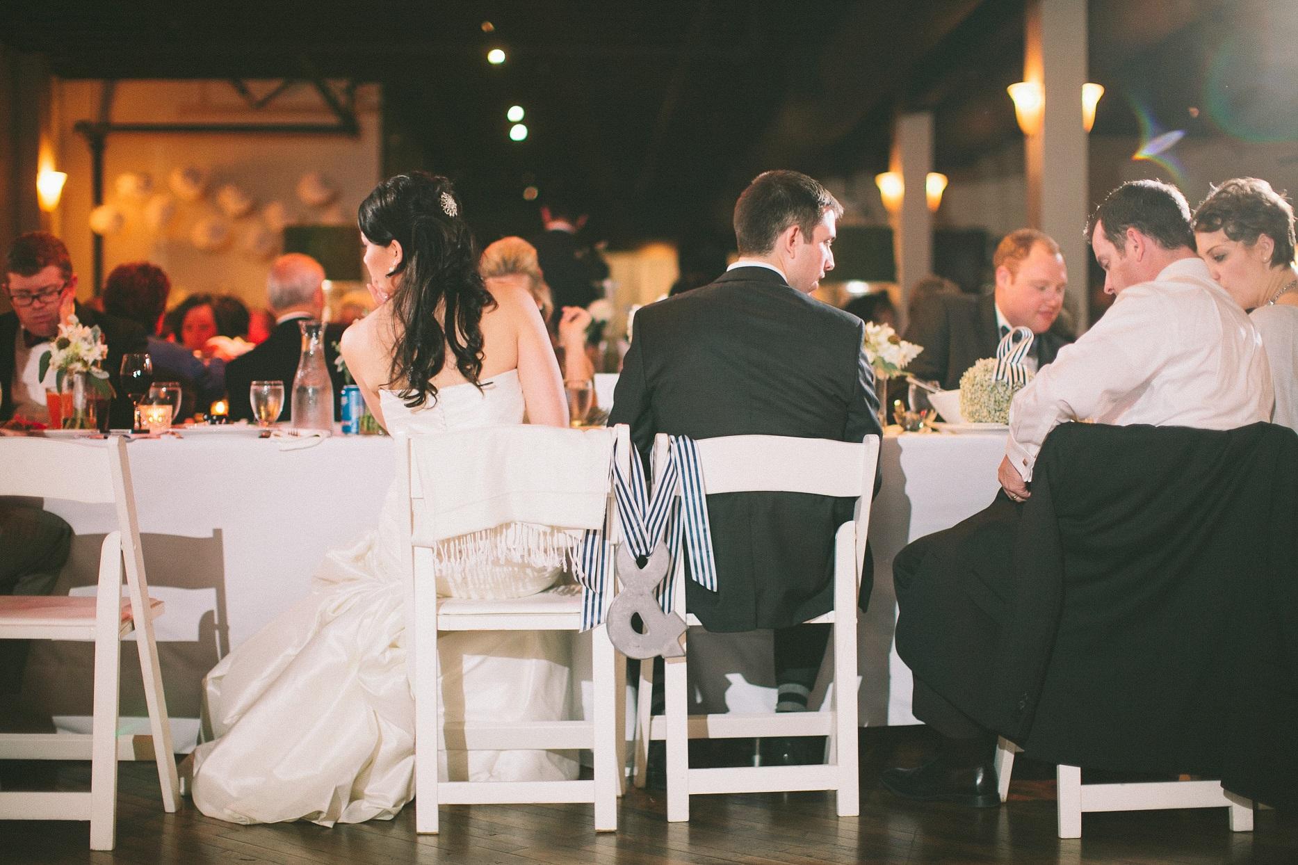 ampersand wedding chairs