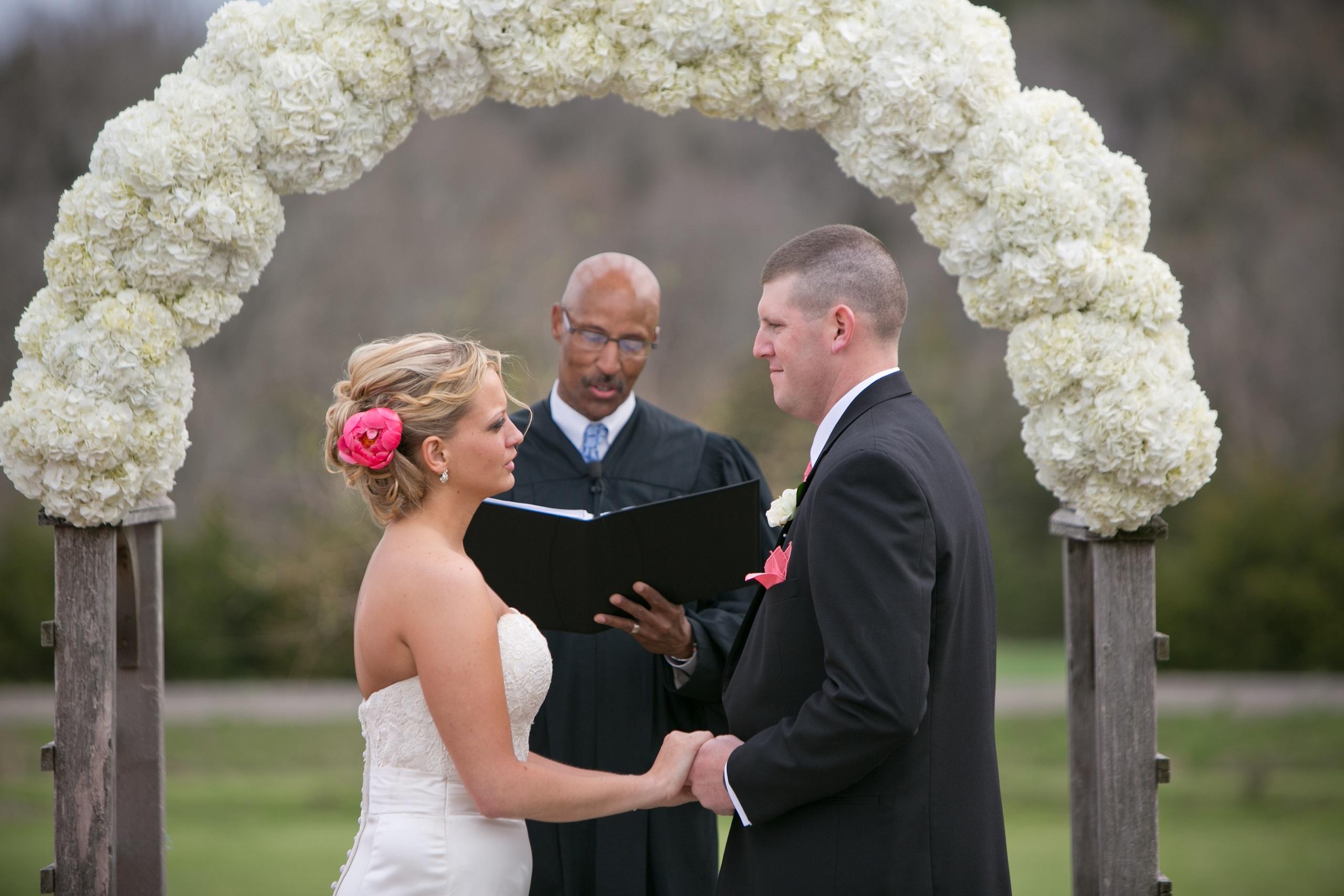 stony point hall wedding ceremony