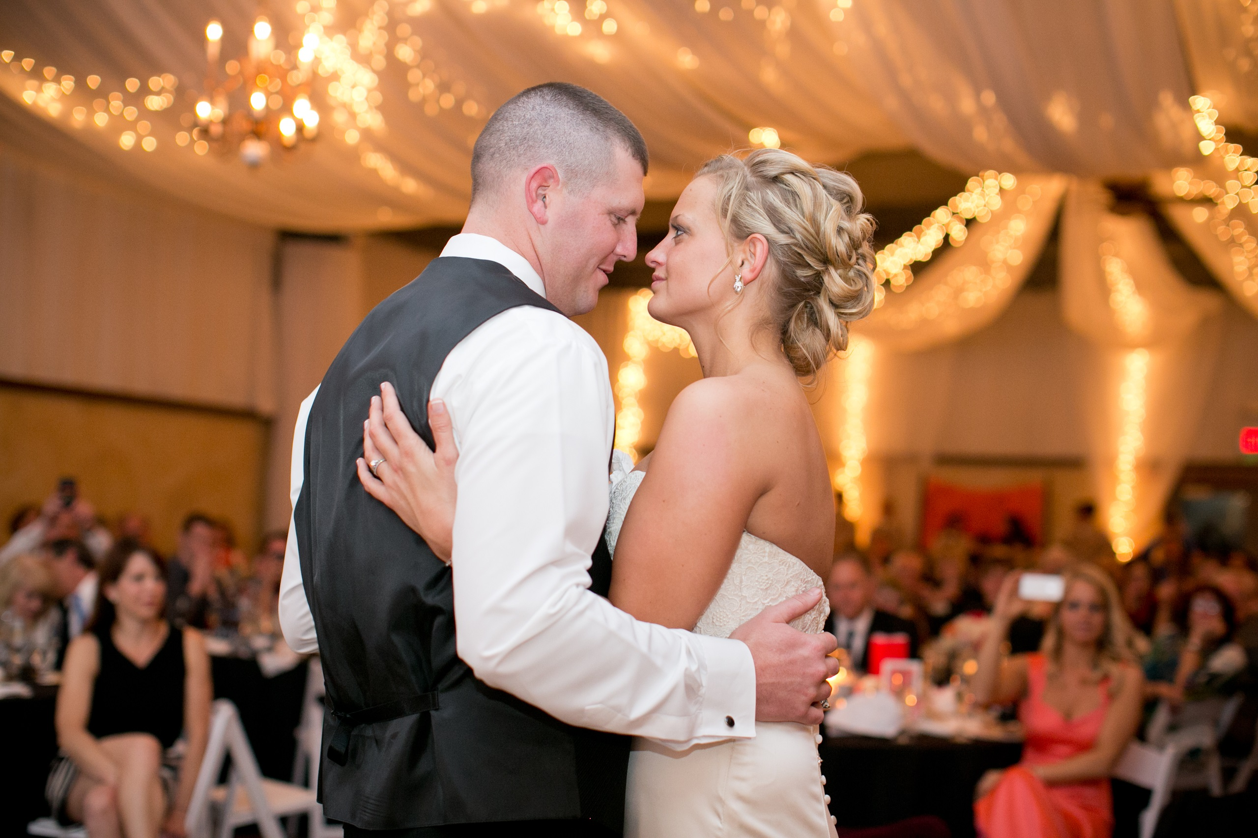 first dance under the lights