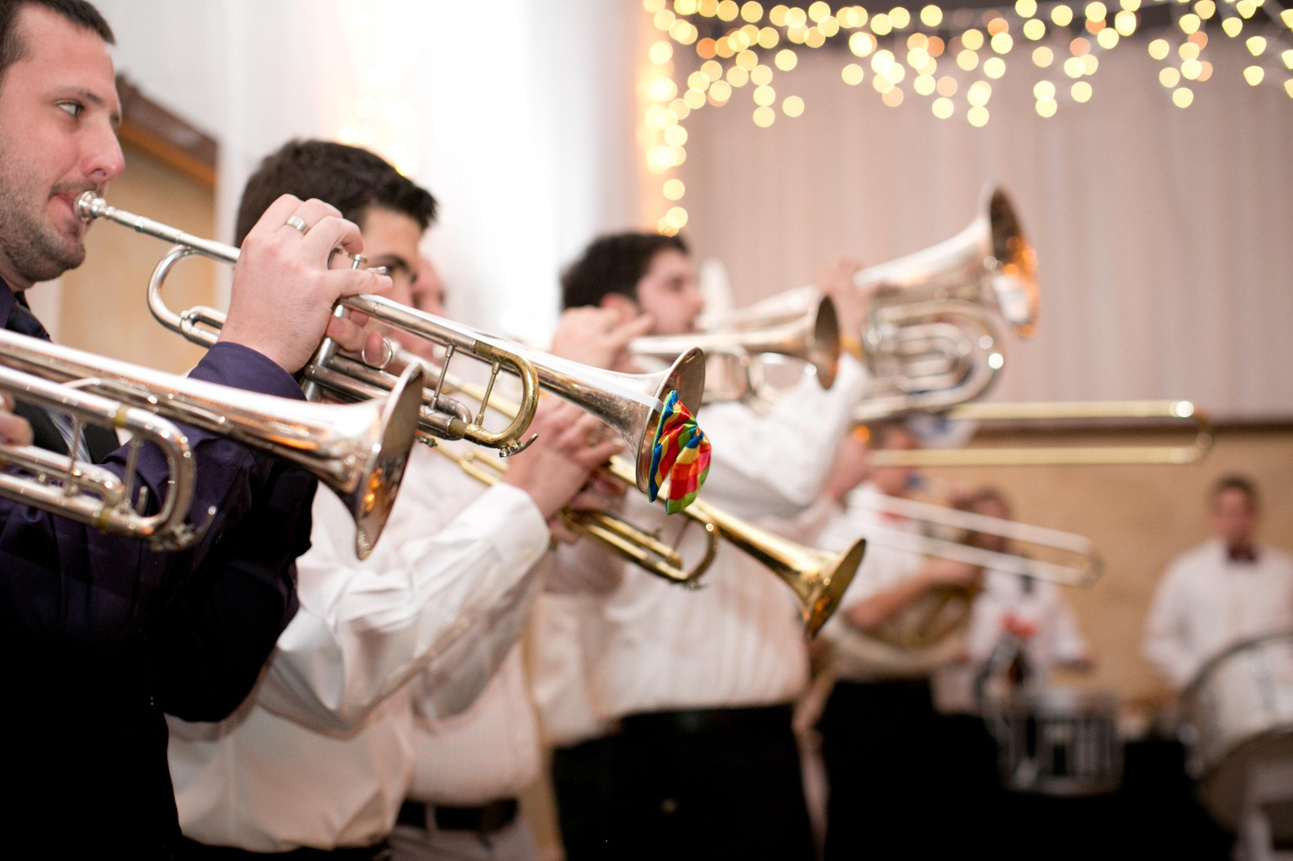 lawrence bar band wedding reception