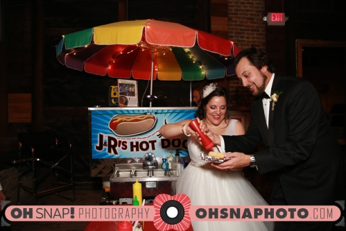 JR's hot dogs for wedding