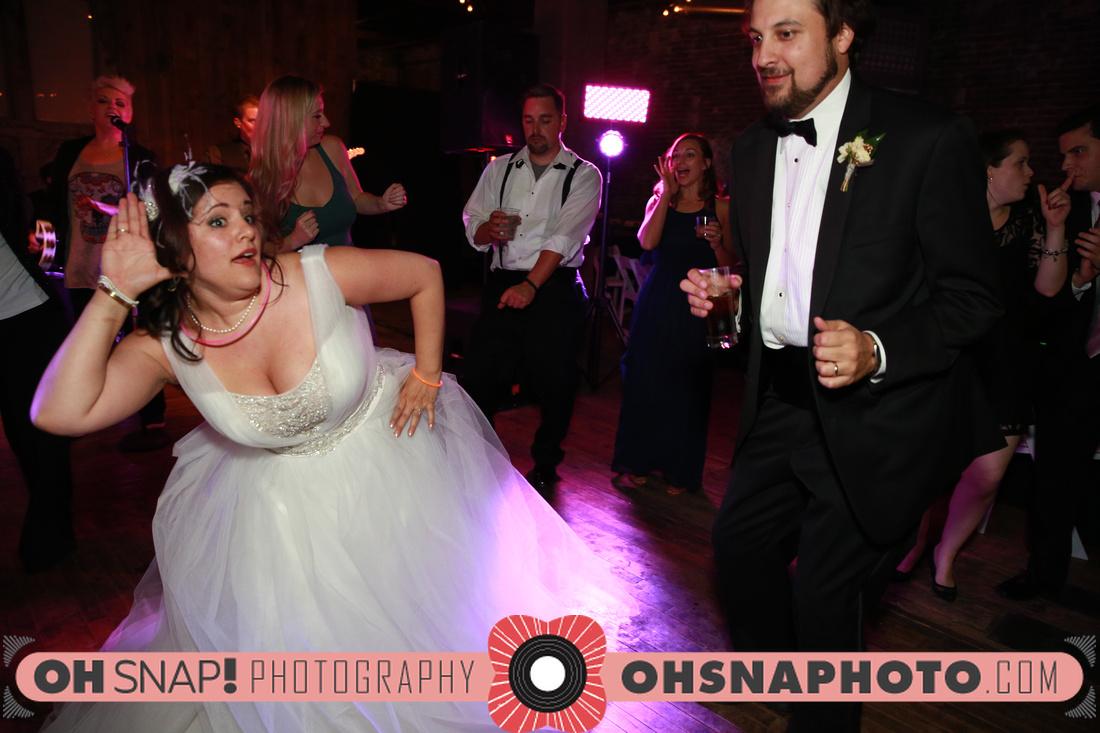 Foundation wedding reception