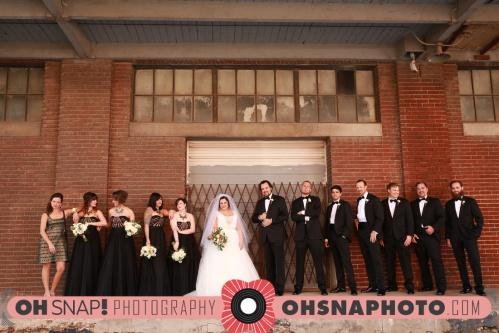 Kansas City bridal party