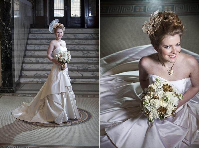French Victorian Bride