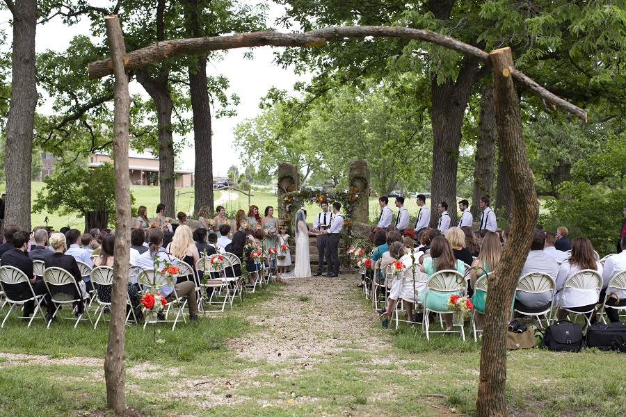 Circle S Ranch Wedding Ceremony