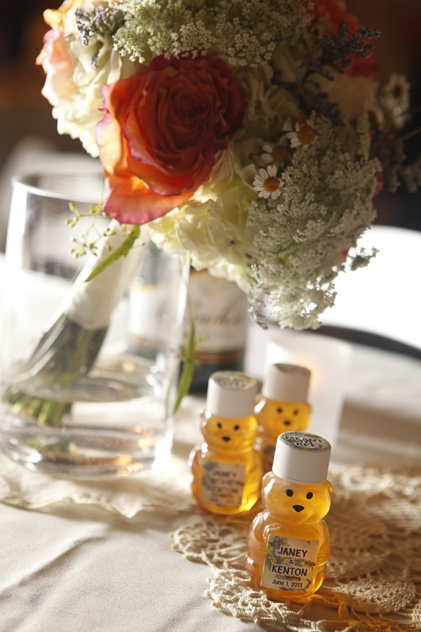 Honey Bear Wedding Favors