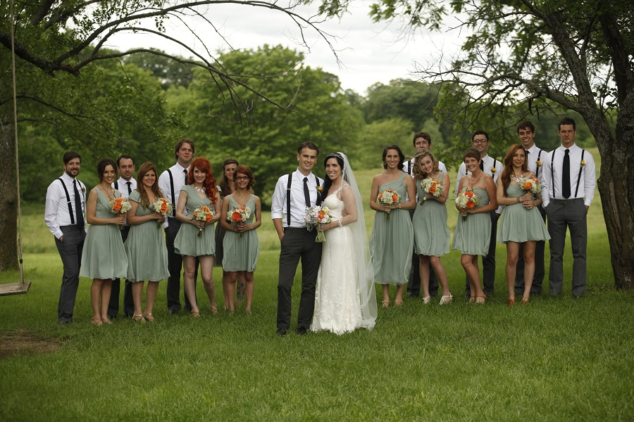 Circle S Ranch Bridal Party