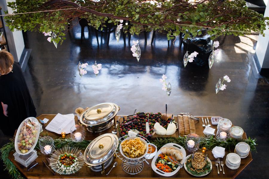 Ambigoni Winery buffet