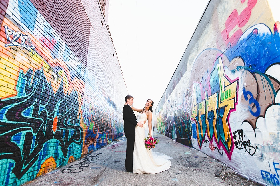 kansas city wedding couple