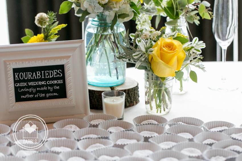 kourabiedes wedding cookies