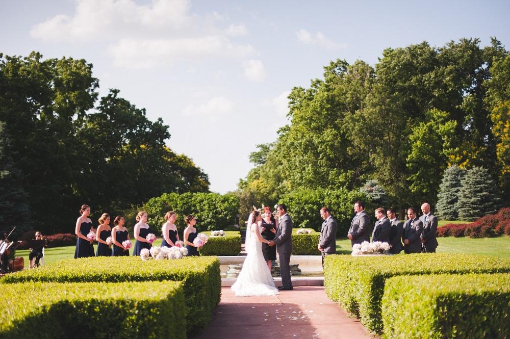 Longview Mansion ceremony