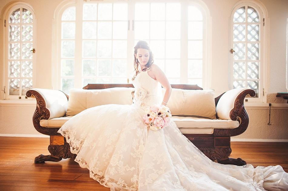 Longview Mansion bride