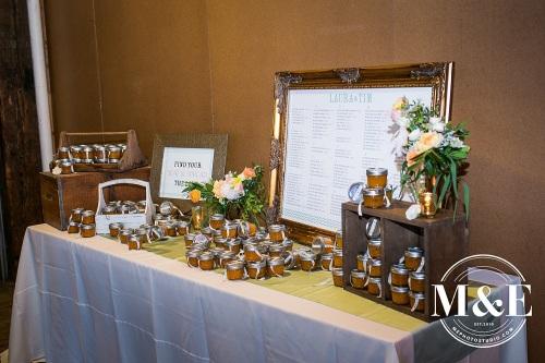 foundation kansas city wedding escort card table