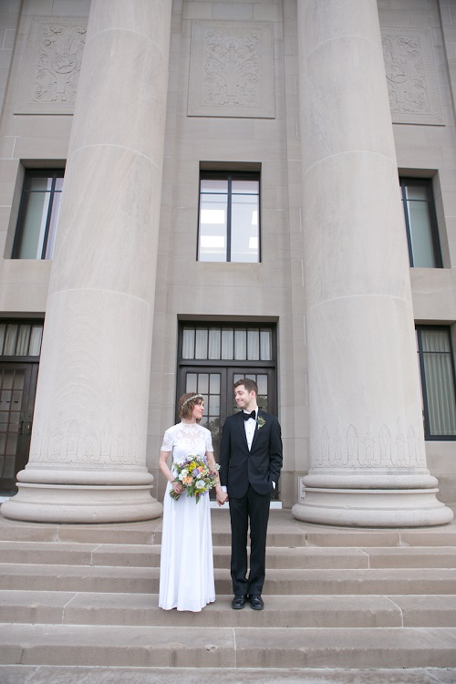 summer kansas city wedding