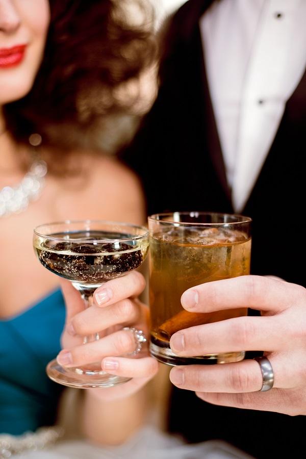 alice in wonderland wedding cocktails