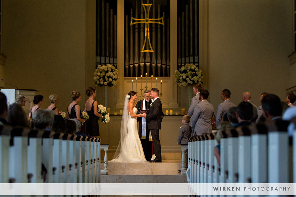 St. John's UMC Wedding