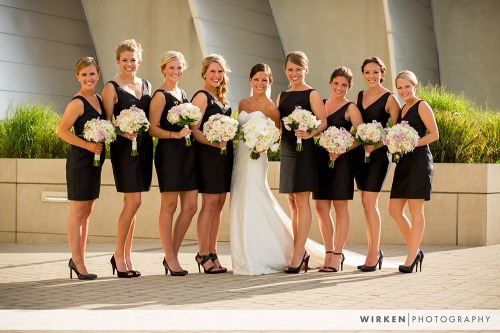 Kauffman Performing Arts Wedding