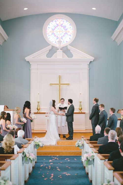 United Colonial Church of Prairie Village Wedding