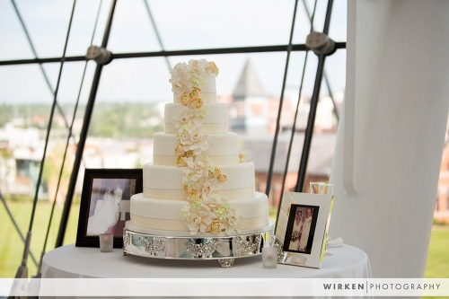 Kauffman Performing Arts Center Wedding Cake