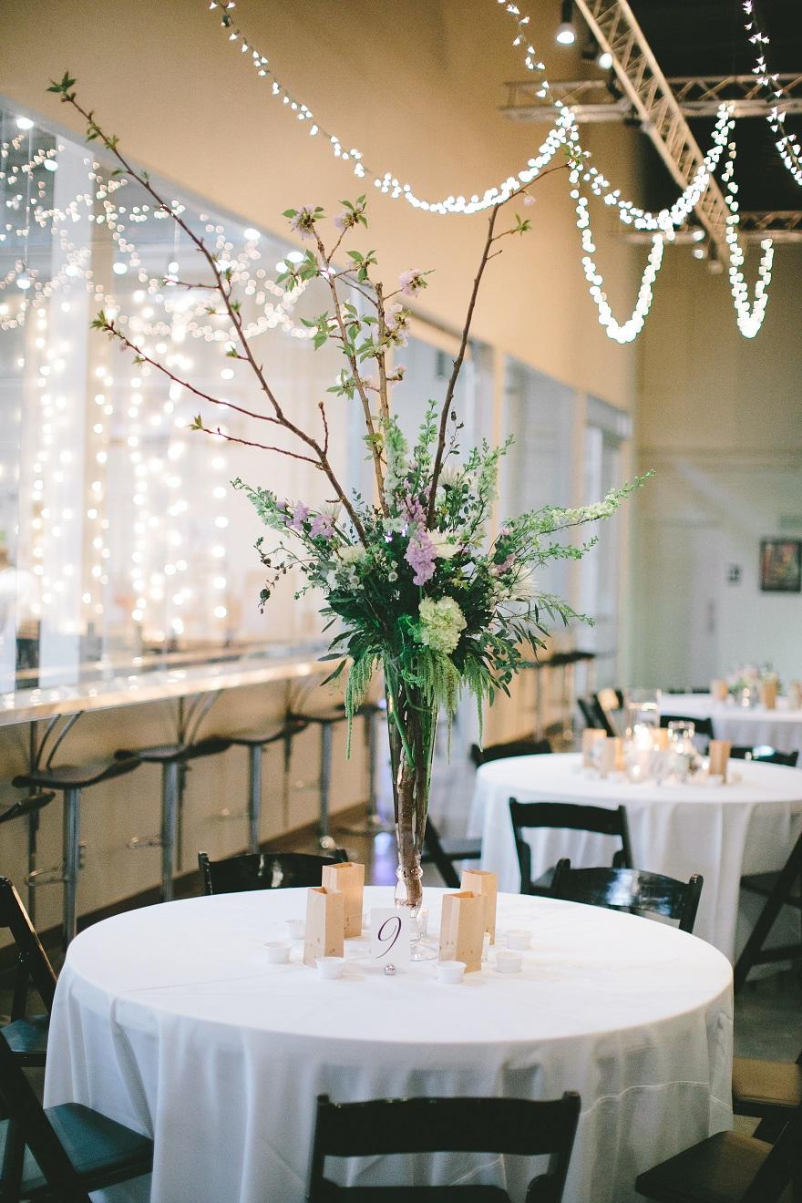 Bean Hangar at The Roasterie Wedding
