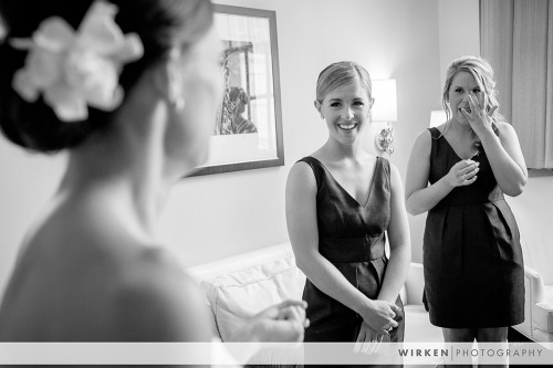 The Ambassador Hotel suite wedding