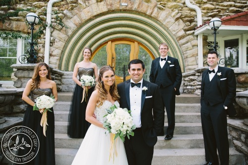 Kansas City wedding party