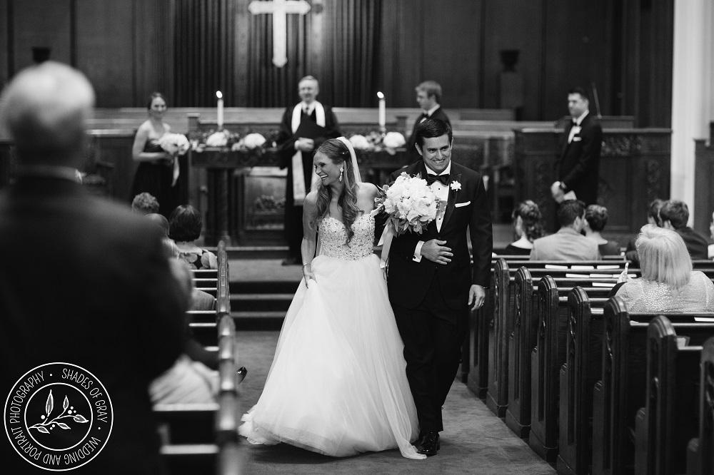 Country Club Christian Church Wedding