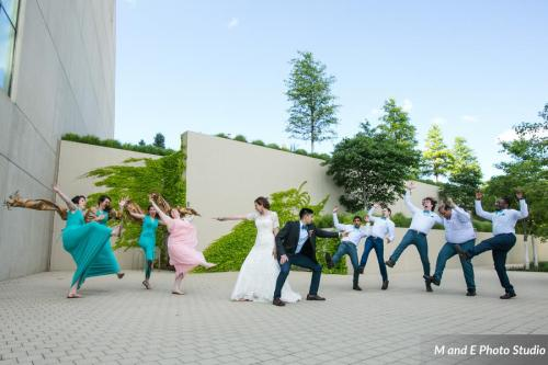 harry potter bridal party