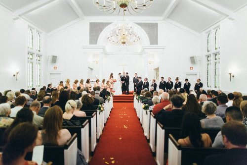 Country Club Congregational Wedding
