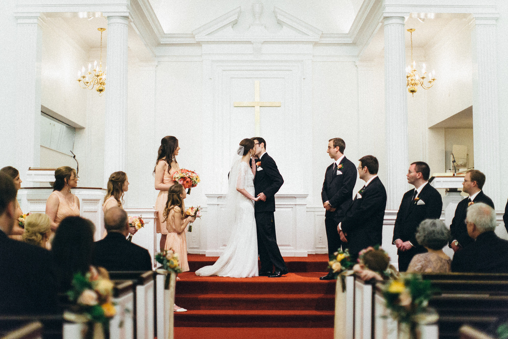 Country Club Congregational Wedding