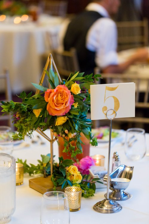 Geometric Shape Centerpiece