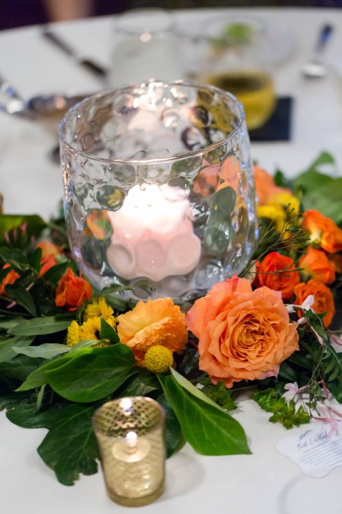 Ripple Glass Centerpiece
