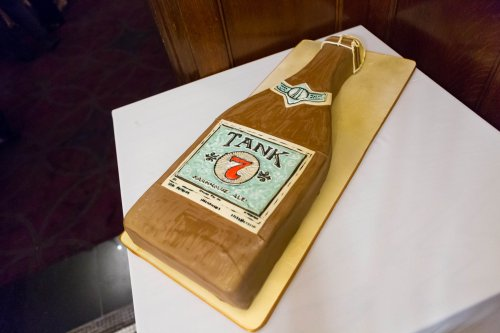 Groom's Cake by Chef Shop Stark