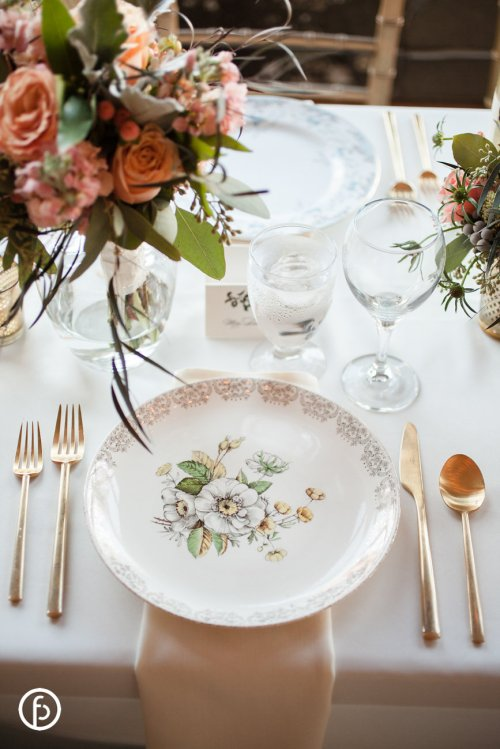 Vintage Plate Co. Wedding