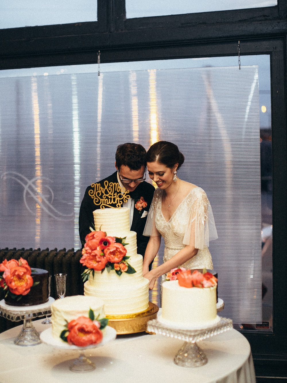 The Hobbs - Wedding Cake