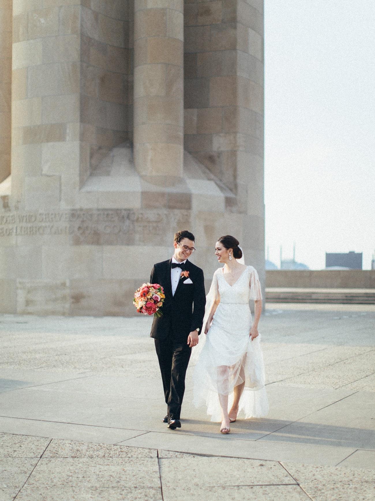 World War I Memorial Bride and Groom