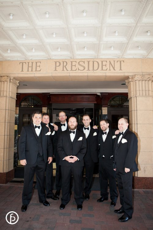 The President Hotel Wedding Party