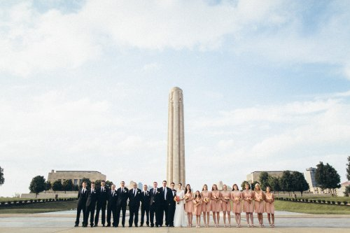 KC Bridal Party - World War I Museum